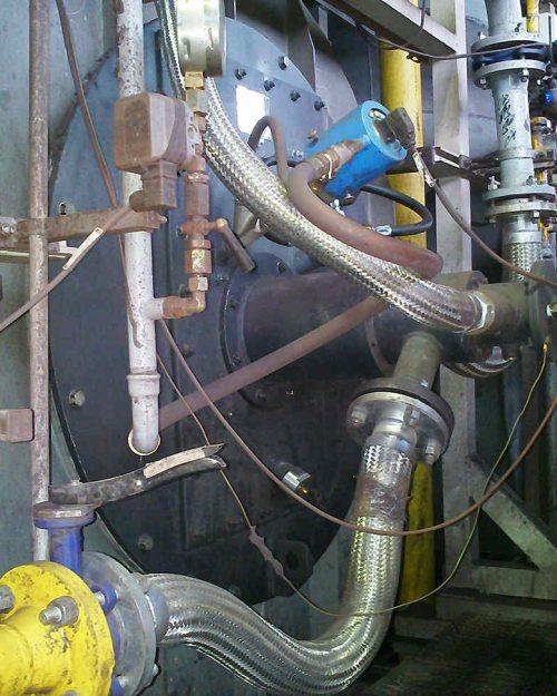 مشعل گازسوز برای کوره مستقیم گندلهسازی شرکت گلگهر سیرجان