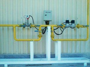 ایستگاه گاز و اندازهگیری کوره ذوب شرکت جهان کریستال