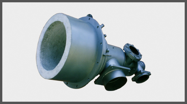 Dual Fuel Medium Velocity Burner Type MGHO