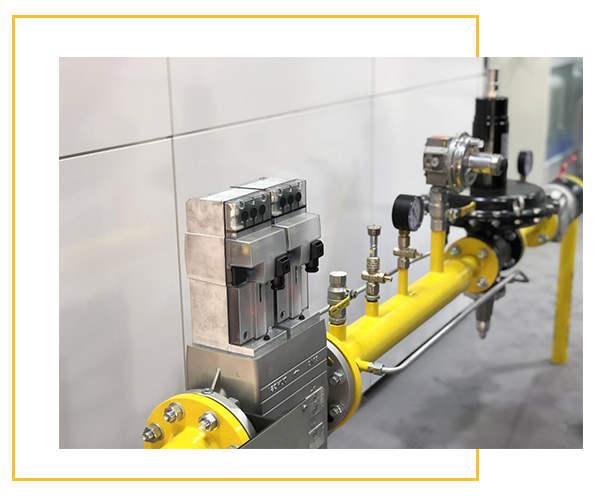 سیستم کنترل و گازرسانی
