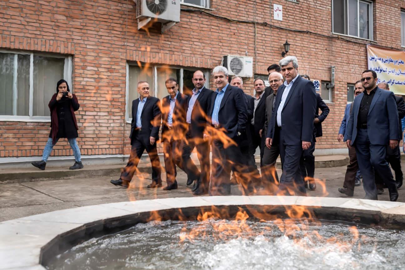 بازدید معاونت علمی و فناوری ریاست جمهوری از شرکت شعلهصنعت