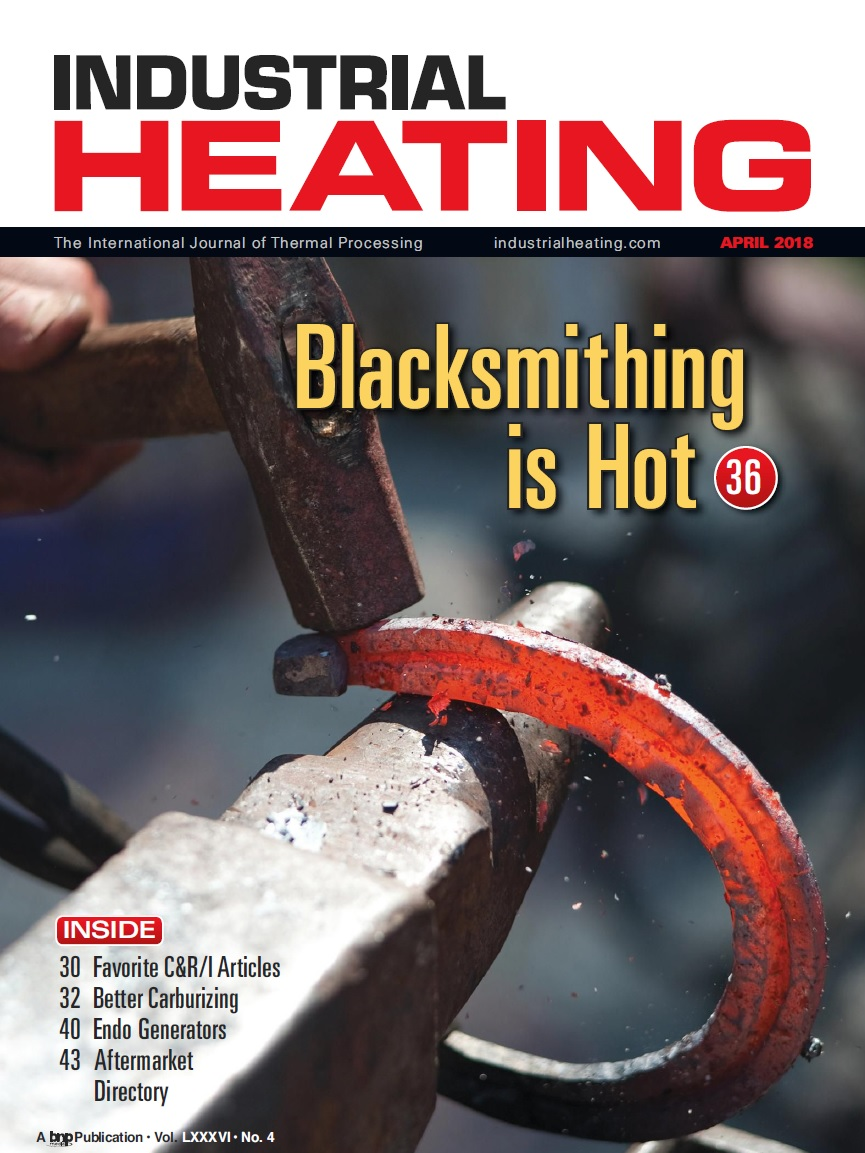 Industrial Heating Magazine - APRIL 2018