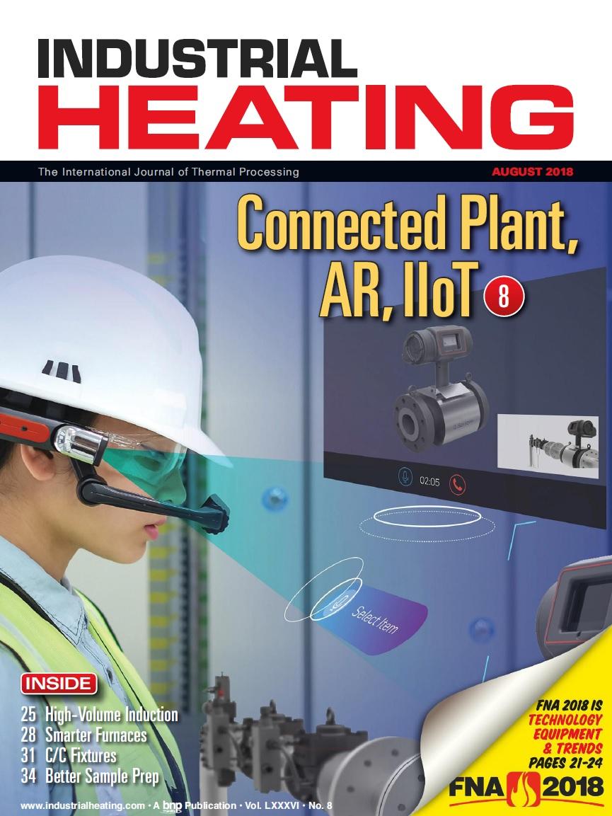 مجله گرمایش صنعتی - نسخه آگست سال ۲۰۱۸