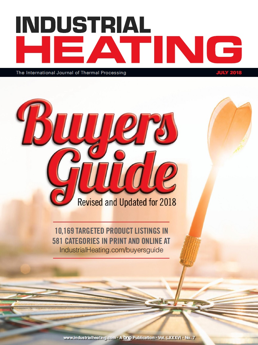 Industrial Heating Magazine - JULY 2018