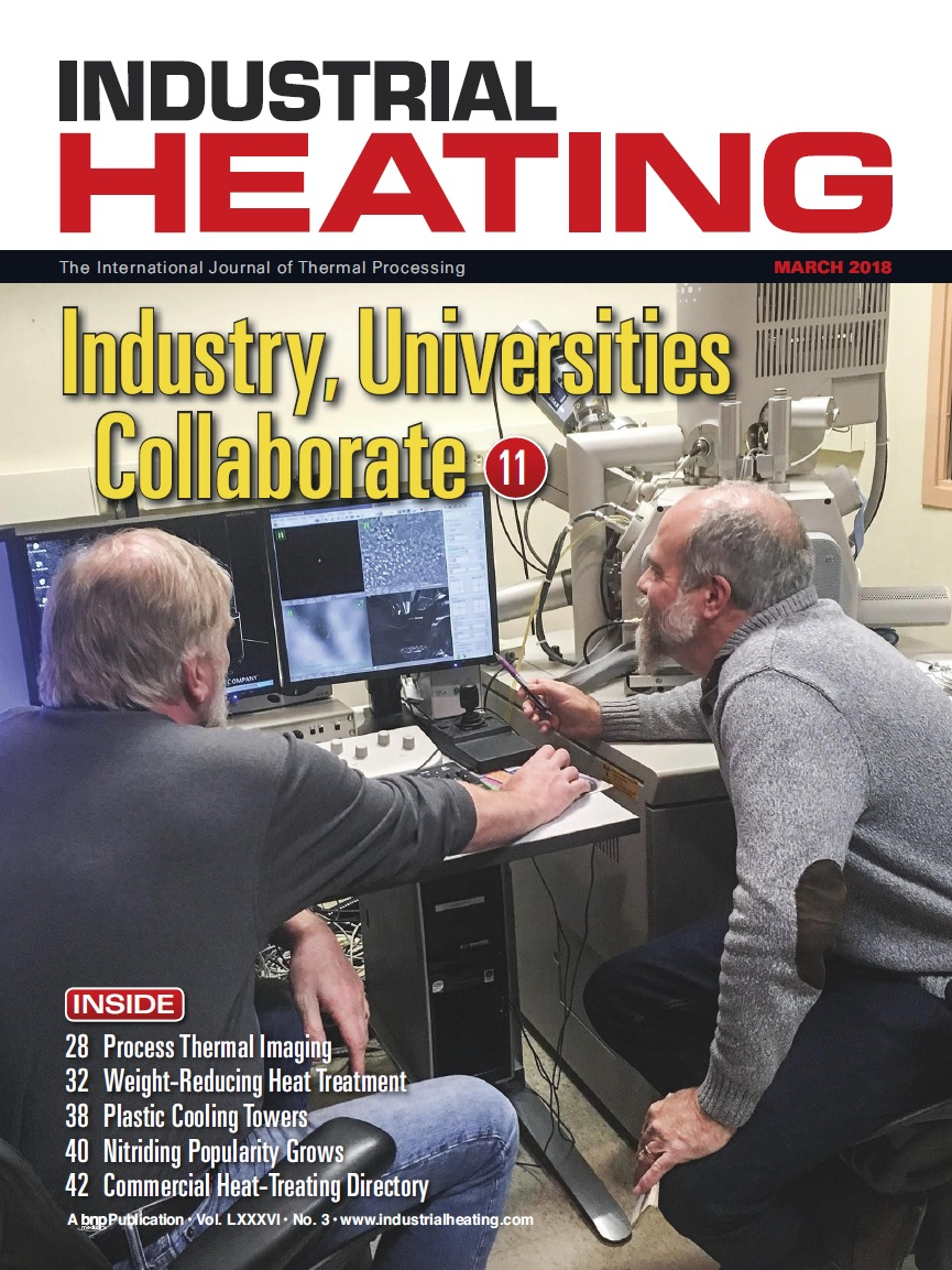 Industrial Heating Magazine - MARCH 2018