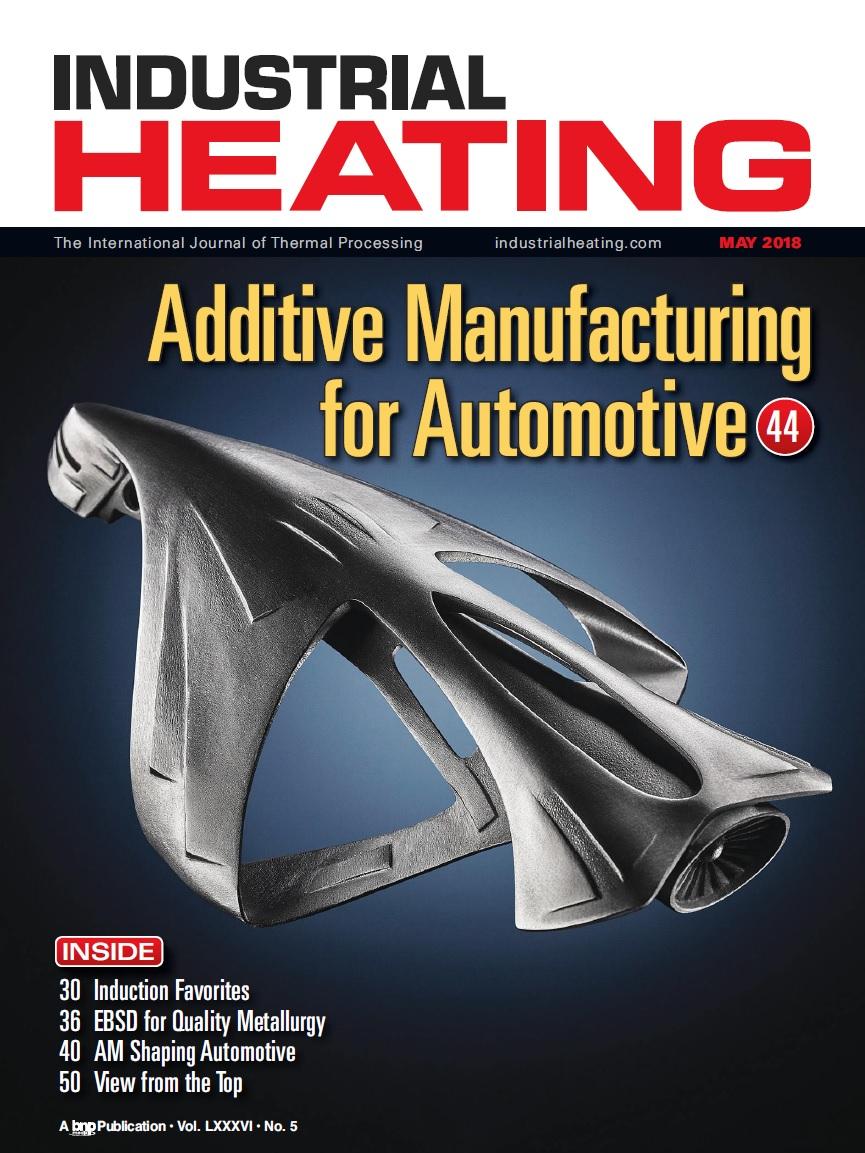 مجله گرمایش صنعتی - نسخه مِی سال ۲۰۱۸