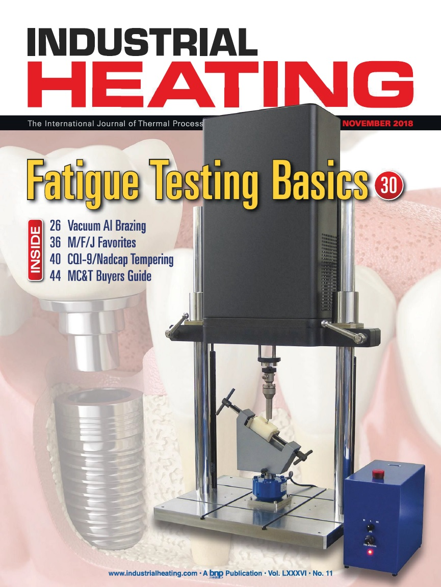 Industrial Heating Magazine - NOVEMBER 2018