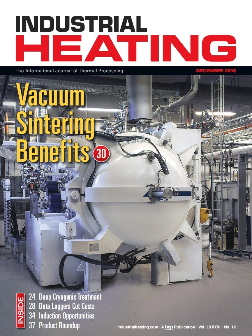 Industrial Heating Magazine - DECEMBER 2018
