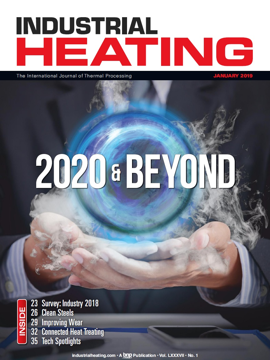 Industrial Heating Magazine - JANUARY 2019