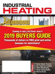 Industrial Heating Magazine - MAY 2019