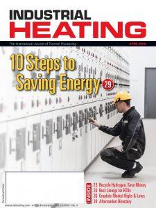 مجله گرمایش صنعتی - نسخه آوریل سال ۲۰۱۹