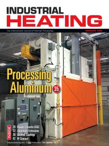 Industrial Heating Magazine - FEBRUARY 2019
