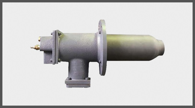 Gas Fuel High Velocity Burner Model MHG/S